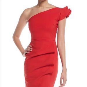 Chiara Boni la Petit Robe Red Dress sz 4